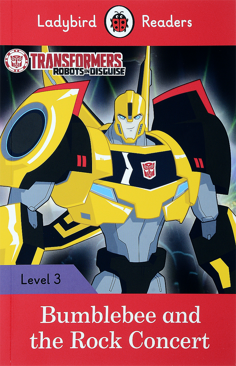 Transformers: Bumblebee and the Rock Concert: Level 3 transformers маска bumblebee