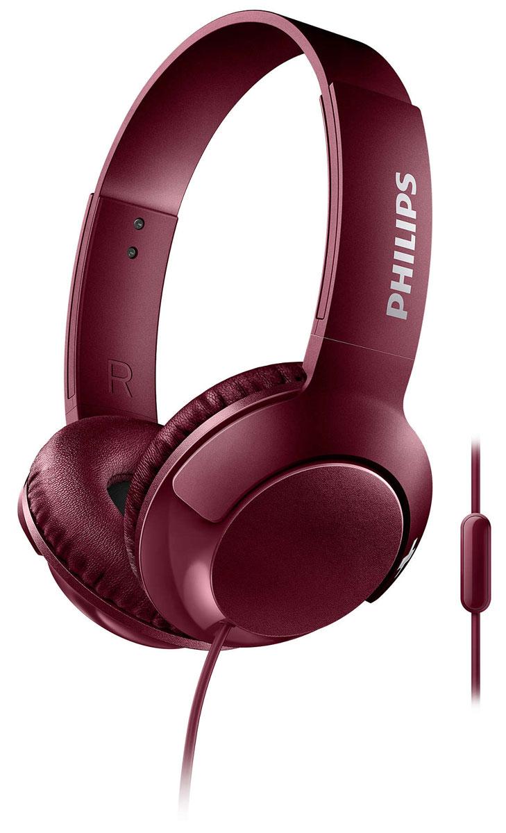 Philips SHL3075 Bass+, Red наушникиSHL3075RD/00Наушники Philips BASS+ воспроизводят музыку с превосходными насыщенными басами. Глубокие, мощные низкиечастоты в сочетании с изящным и стильным корпусом - эти наушники созданы для любителей мощных басов,которые ценят компактность.Элегантный дизайн, специально настроенные излучатели и басовые отверстия, которые воспроизводят дажесверхнизкие частоты, - вот секрет фирменного звучания наушников BASS+.Благодаря плоской складной конструкции наушники BASS+ удобно хранить и брать с собой в поездки.Удобные элементы управления позволяют приостанавливать или запускать воспроизведение и отвечать навызовы простым нажатием.Мягкие дышащие амбушюры обеспечивают комфорт даже при долгом прослушивании.Благодаря закрытому акустическому оформлению наушники BASS+ блокируют внешние шумы и обеспечиваютотличную звукоизоляцию для высокого качества звучания.