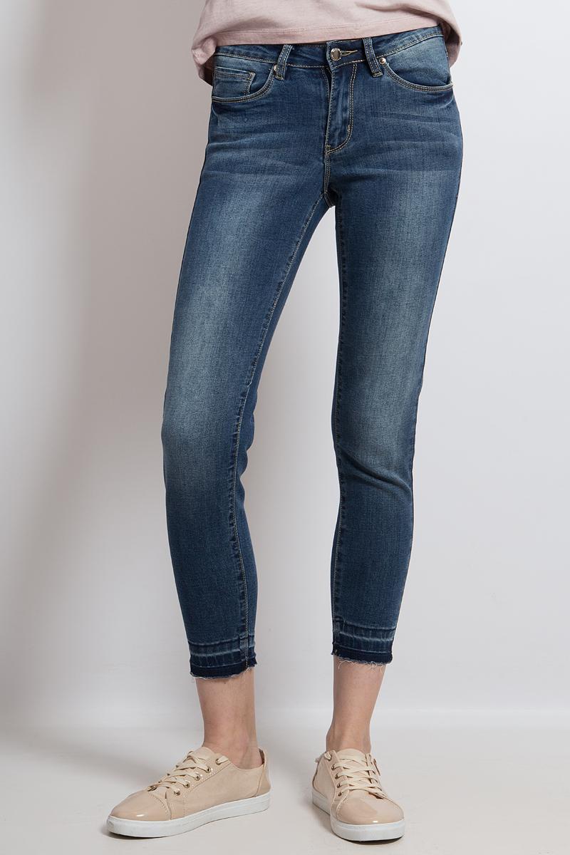 Джинсы женские Finn Flare, цвет: синий. B18-15007_125. Размер 29-32 (46-32) джинсы