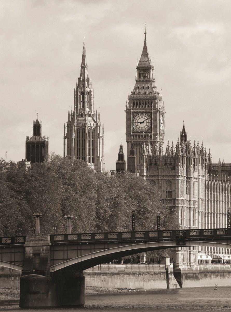 Фотообои флизелиновые Московская обойная фабрика Лондон, 200 х 270 см фотообои barton wallpapers города 200 x 270 см u10402