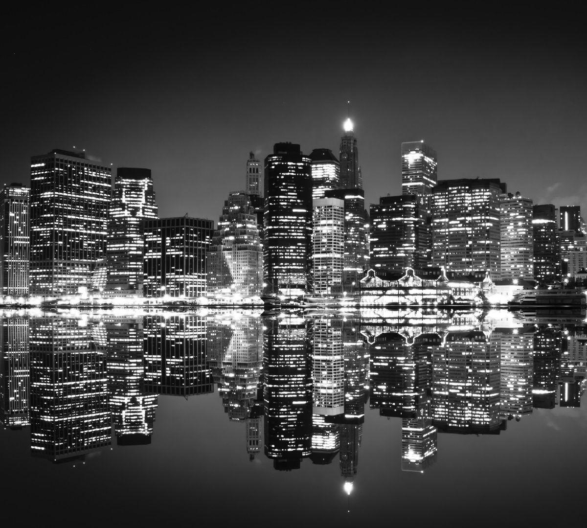 Фотообои флизилиновыеМосковская обойная фабрика Ночной город, 300 х 270 см2139-МЭкологически чистые флизилиновые фотообои Ночной город, 3,0х2,7м 2139-М