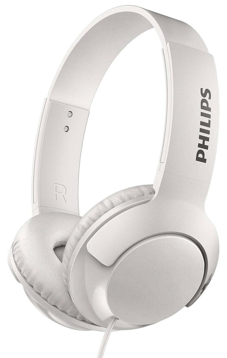 Philips SHL3070 Bass+, White наушникиSHL3070WT/00Наушники Philips BASS+ воспроизводят музыку с превосходными насыщенными басами. Глубокие, мощные низкиечастоты в сочетании с изящным и стильным корпусом - эти наушники созданы для любителей мощных басов,которые ценят компактность.Элегантный дизайн, специально настроенные излучатели и басовые отверстия, которые воспроизводят дажесверхнизкие частоты, - вот секрет фирменного звучания наушников BASS+.Благодаря плоской складной конструкции наушники BASS+ удобно хранить и брать с собой в поездки.Мягкие дышащие амбушюры обеспечивают комфорт даже при долгом прослушивании.Благодаря закрытому акустическому оформлению наушники BASS+ блокируют внешние шумы и обеспечиваютотличную звукоизоляцию для высокого качества звучания.