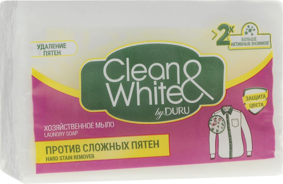 Duru Clean&White Хозяйственное Мыло Пр.пят.125г