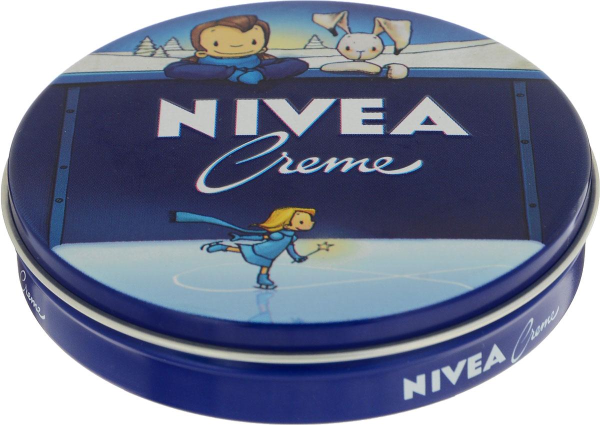 NIVEA Крем для ухода за кожей 75 мл80103Универсальный крем для кожи Nivea Creme обладает уникальной формулой, благодаря которой увлажняет, питает и бережно ухаживает за кожей тела, особенно за сухими участками. Крем не содержит консервантов и поэтому подходит даже для нежной детской кожи. Характеристики: Объем: 75 мл. Производитель: Германия. Артикул: 80103.Товар сертифицирован.Уважаемые клиенты! Обращаем ваше внимание на то, что упаковка может иметь несколько видов дизайна. Поставка осуществляется в зависимости от наличия на складе.