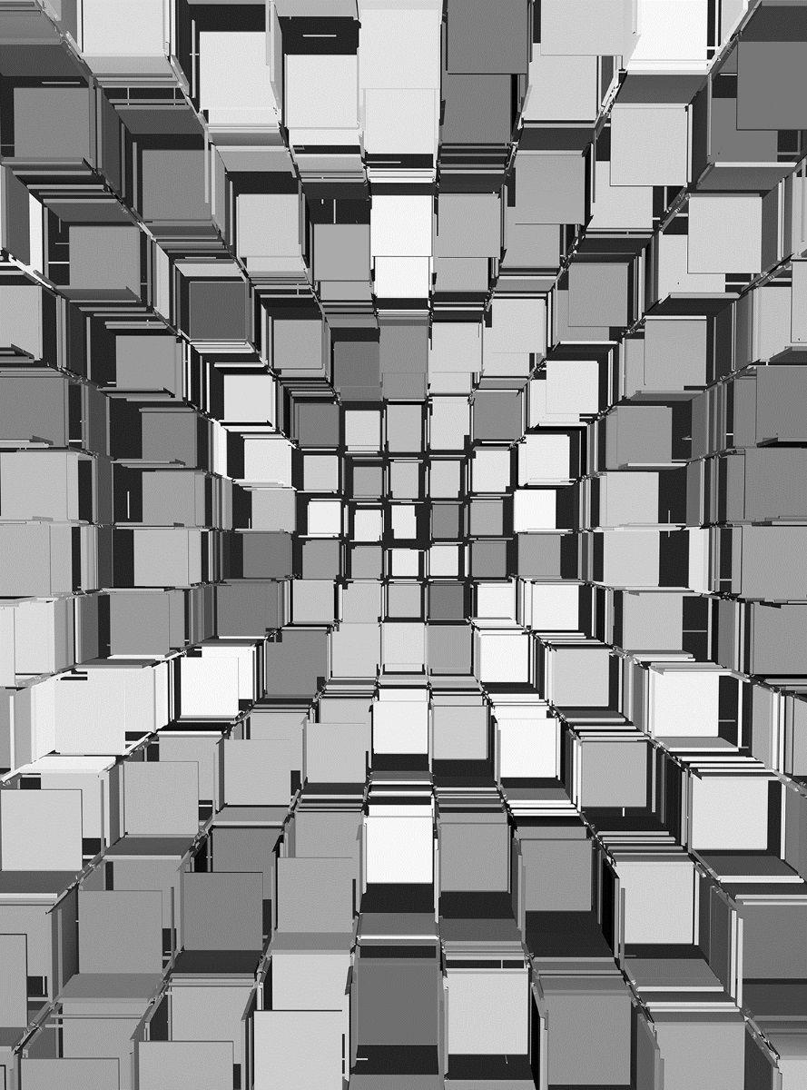 Фотообои флизелиновые Московская обойная фабрика Квадраты 3D, 200 х 270 см 3d mural wallpaper living room decoration papel de parede современный городской ночной вид большой пользовательский фотообои wall wall bedroom bedroomv