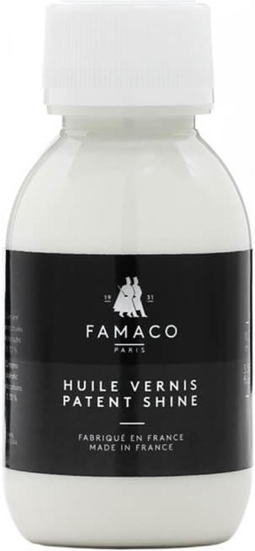 Кондиционер для лакированной кожи Famaco, цвет: нейтральный, 100 мл 12storeez брюки из лакированной кожи черный