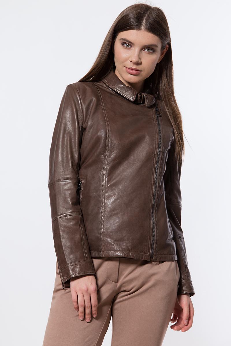 Куртка женская Finn Flare, цвет: светло-коричневый. B18-11802_623. Размер S (44)B18-11802_623