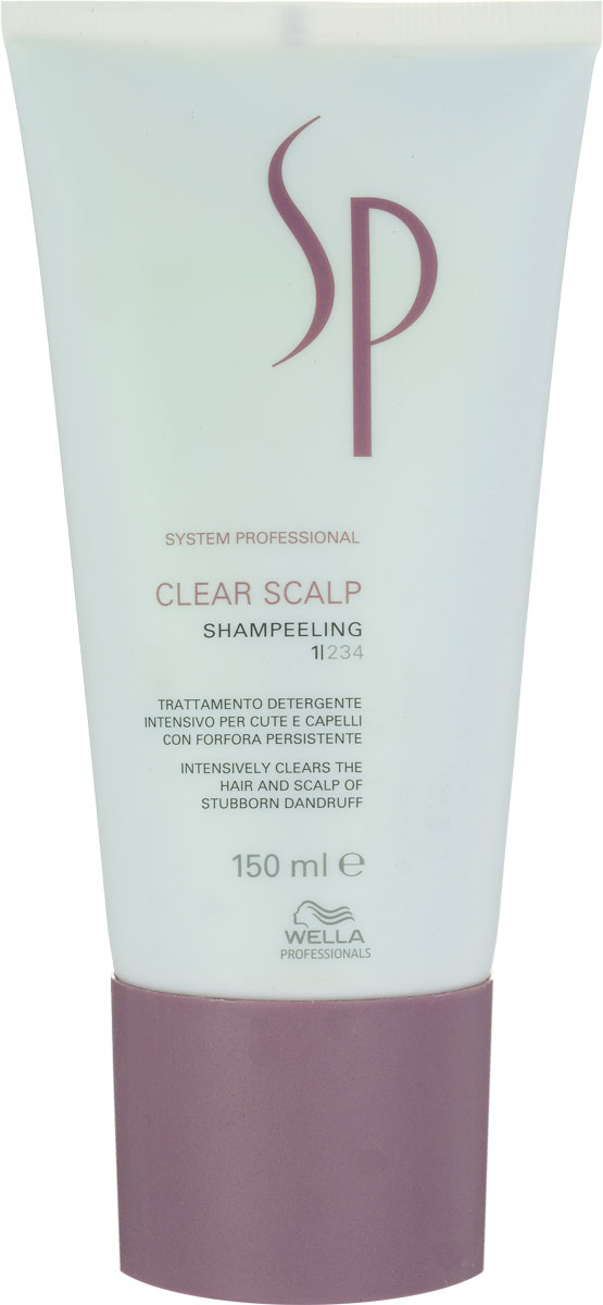 Wella SP Шампунь-пилинг против перхоти Clear Scalp Shampeeling, 150 мл