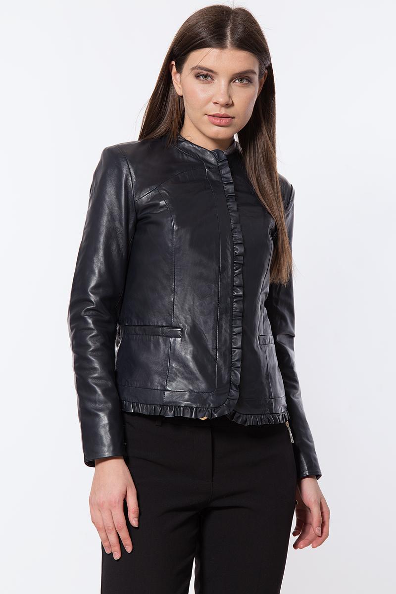 Куртка женская Finn Flare, цвет: темно-синий. B18-11809_101. Размер L (48)B18-11809_101