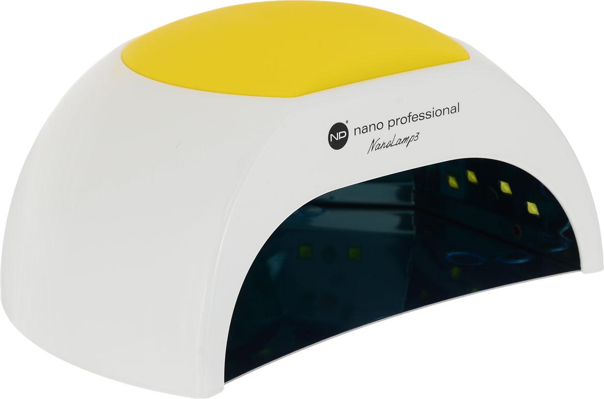 Nano Professional Лампа NanoLamp3 Multi UV/LED 48W003104Лампа NanoLamp3 - высокопроизводительная профессиональная лампа нового поколения. Сочетая в себе 2 типа света - UV и LED, лампа является гибридной и полимеризует все виды светоотверждаемых гелей и гель-лаков.Тип лампы - UV/LED Количество лампочек - 27 светодиодов Таймер 10, 30, 60 и 90 сек Мощность - 48 Вт Особенности: - скорость и качество полимеризации геля и гель-лака от 10 сек; - внутренний сенсор движения автоматически включает и выключает лампу; - возможность установки таймера на 10, 30, 60 и 90 сек (Thermo control); - съемное дно на магнитах легко снимается (для педикюра); - режим Thermo control помогает исключить болевые ощущения во время полимеризации; - срок службы 5000 часов; - встроенные UV/LED лампочки не подлежат замене; - сменные резиновые накладки-подлокотники можно менять под интерьер или настроение.Как ухаживать за ногтями: советы эксперта. Статья OZON Гид