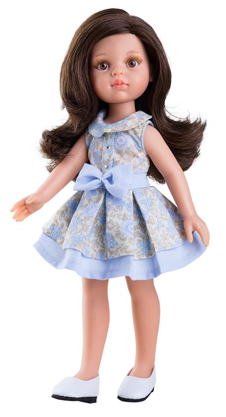 Paola Reina Кукла Кэрол цвет платья бежевый голубой куклы и одежда для кукол paola reina кукла вирджи 36 см