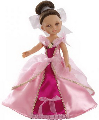 Paola Reina Кукла Кэрол принцесса paola reina кукла вики 47 см paola reina