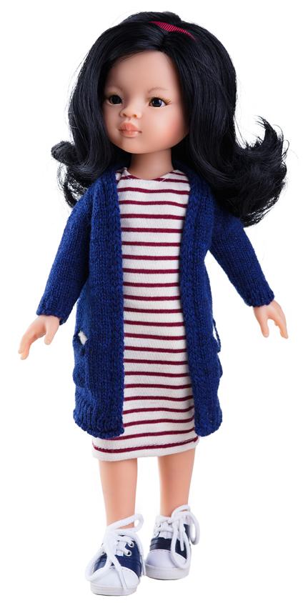 Paola Reina Кукла Лиу куклы и одежда для кукол paola reina кукла вирджи 36 см