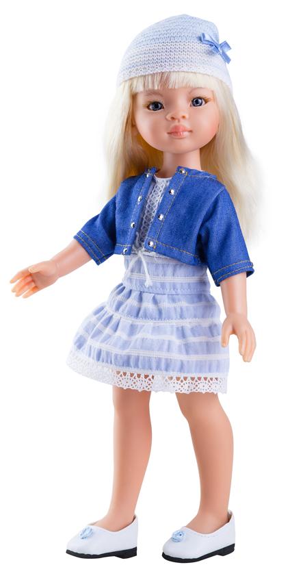 Paola Reina Кукла Маника куклы и одежда для кукол paola reina кукла вирджи 36 см