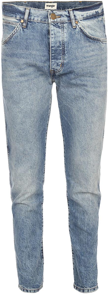 Джинсы мужские Wrangler Boyton, цвет: серо-голубой. W16EGW15T. Размер 33-34 (48/50-34) джинсы мужские tom tailor denim цвет голубой 6204155 00 12 1062 размер 33 34 48 50 34