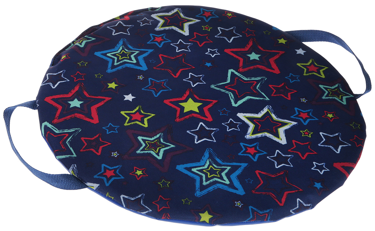 Ледянка FormulaZima Снежинка. Звезды, диаметр 45 см ледянка мягкая круглая combosport d 45 см дракон на санках
