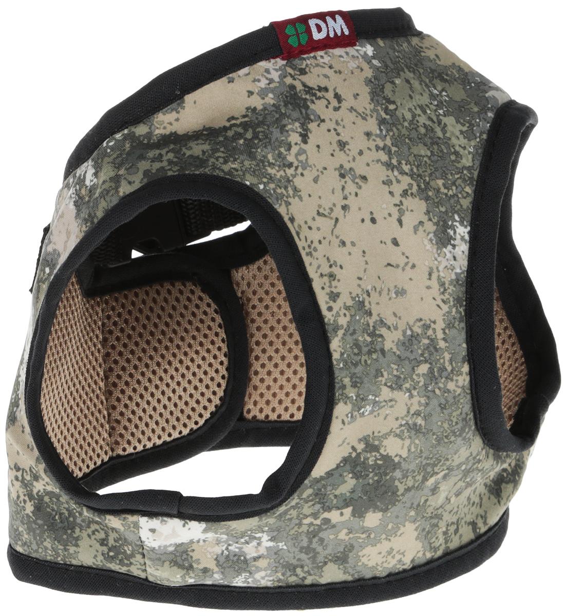 Шлейка для собак Dogmoda Active, цвет: серый, бежевый. Размер 3 (L) комбинезон для собак dogmoda doggs active для девочки цвет зеленый бежевый размер 47