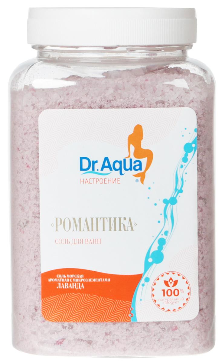 Dr. Aqua Соль морская ароматная Романтика, с экстрактом лаванды, 750 г20Соли для ванн серии Аква-Настроение -настройся на свой лад! Создай себеромантическое - настроение!Натуральное эфирное масло лаванды освежает и тонизирует кожу, являетсяобщеукрепляющим и успокаивающим средством.Природная морская соль Верхнекамского месторождения является уникальнымоздоравливающим средством. Она идеально подходит для проведения SPA -процедур в домашних условиях. При растворении соли в воде образуетсяестественный осадок – это целебная межкристаллическая глина, котораясодержит в себе более 40 жизненно важных макро и микроэлементов.Регулярный прием ванн с морской солью поддерживает процесс обновленияклеток кожи, усиливает ее защитные функции, сохраняет молодость и здоровье.Уважаемые клиенты! Обращаем ваше внимание на то, что упаковка может иметьнесколько видов дизайна. Поставка осуществляется в зависимости от наличияна складе.