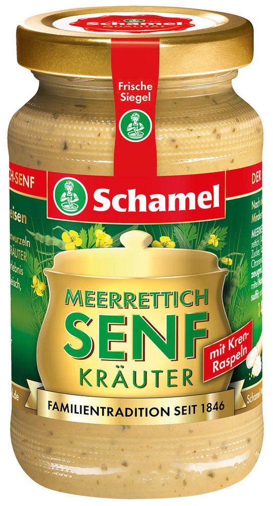 Естественная мощь грубых измельченных корней хрена и семян горчицы делает горчицу более пикантной.