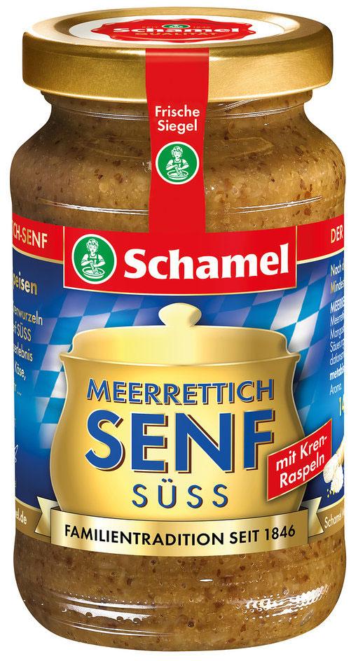Естественная мощь грубых измельченных корней хрена и семян горчицы делает горчицу более пикантной. Идеально подходит для мясных и рыбных блюд..