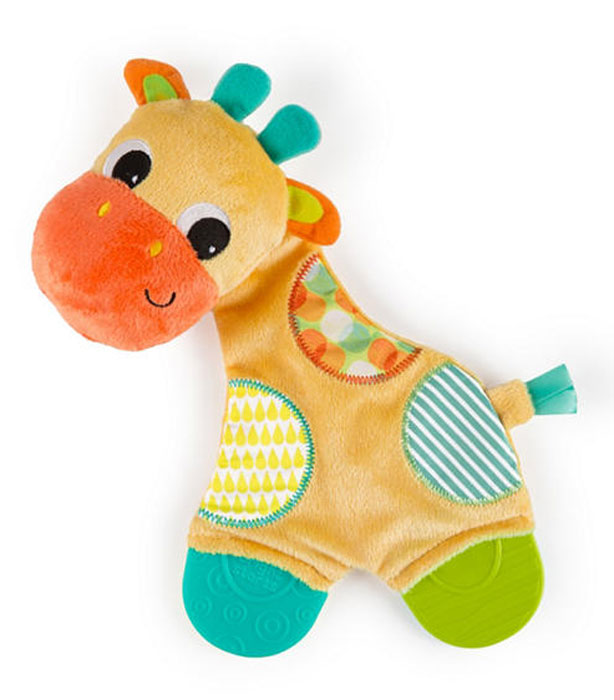 Bright Starts Развивающая игрушка с прорезывателями Самый мягкий друг Жираф мягкая игрушка развивающая k s kids часы сова