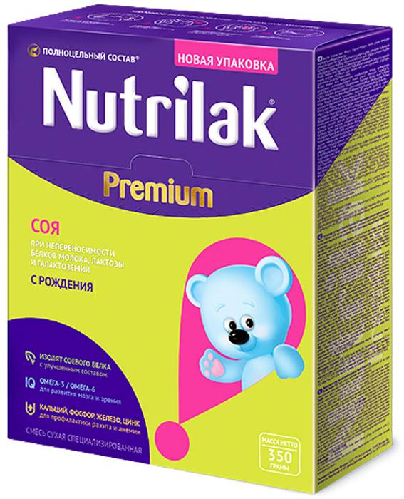 Nutrilak Premium соя смесь с 0 месяцев, 350 г чай nutrilak лактамил смесь для кормящих матерей 360 г