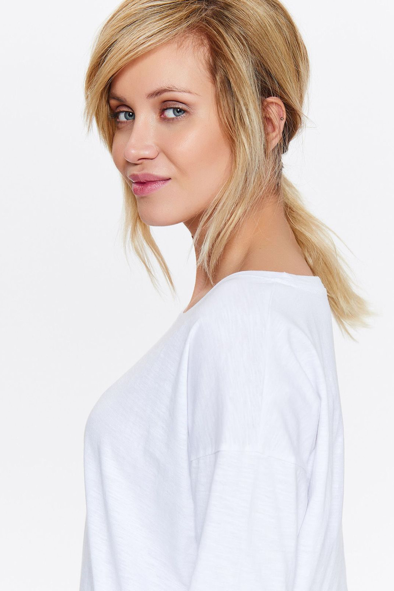 Блузка женская Drywash, цвет: белый. DBD0015BI. Размер S (44)DBD0015BI