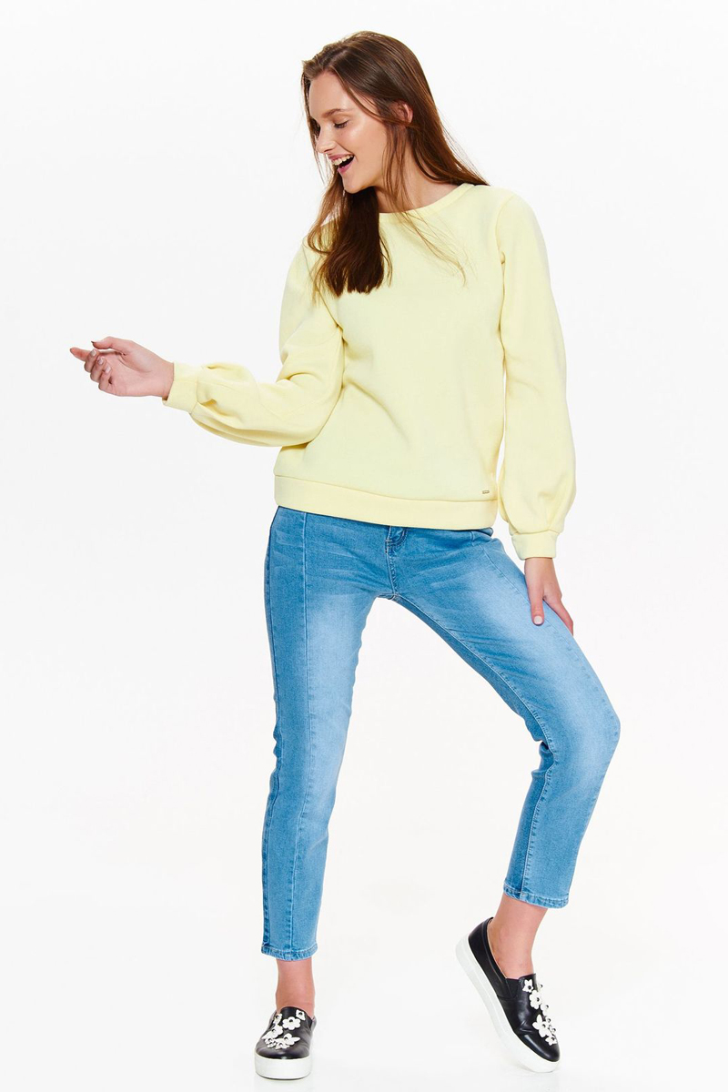 Джемпер женский Drywash, цвет: желтый. DBL0266ZO. Размер XL (50) свитер drywash drywash dr592ewxdb47