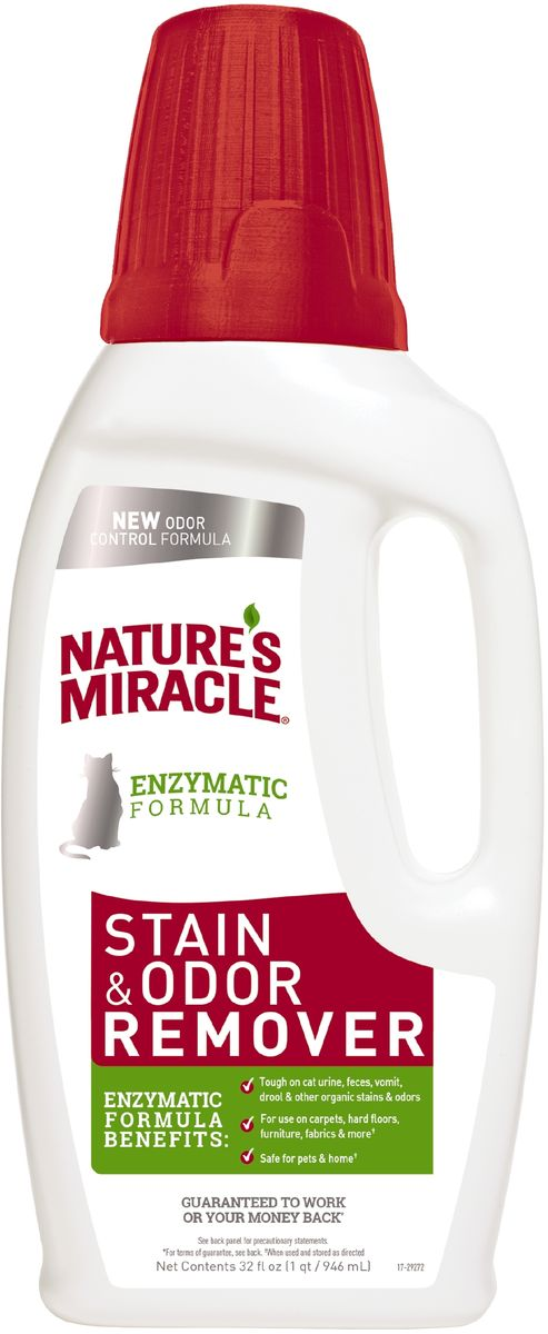Уничтожитель пятен и запахов от кошек 8in1 NM JFC S&O Remover, универсальный, 945 мл лайна мс спрей для удаления меток и запахов домаш животных пихта 0 75л