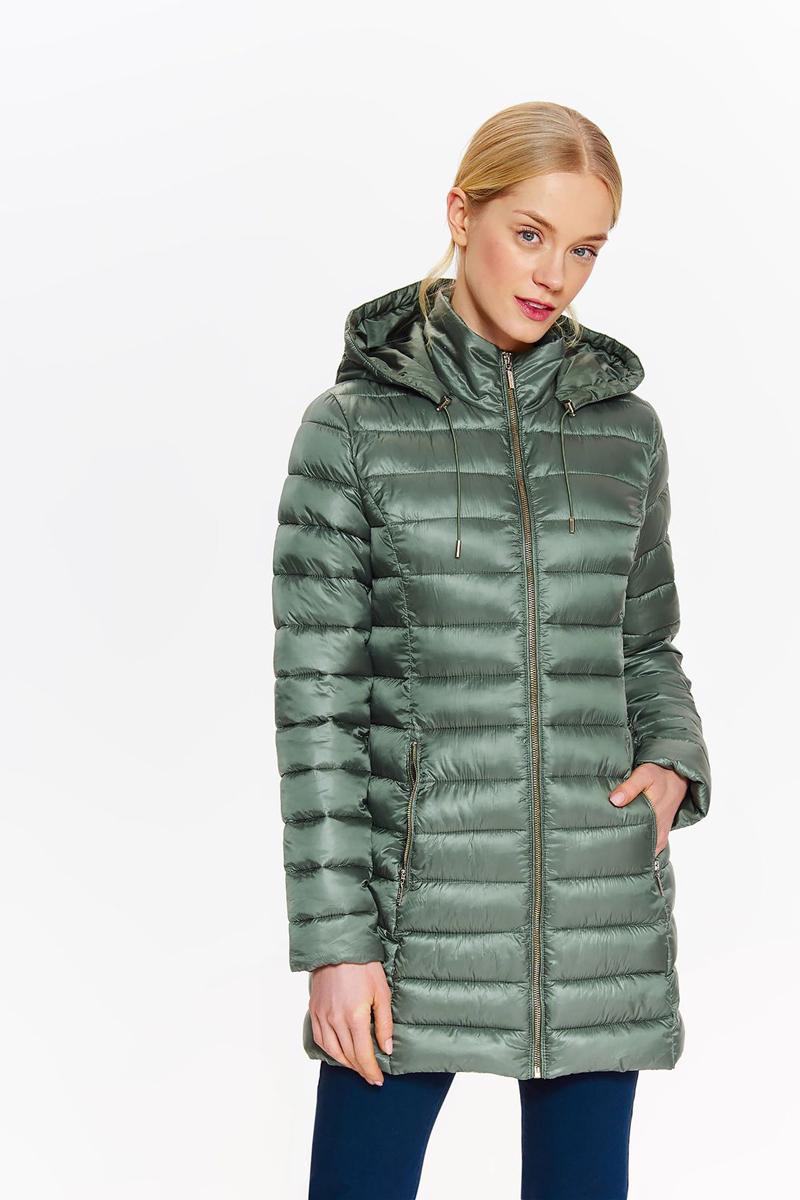 Куртка женская Top secret, цвет: зеленый. SKU0845ZI. Размер 38 (46)SKU0845ZI