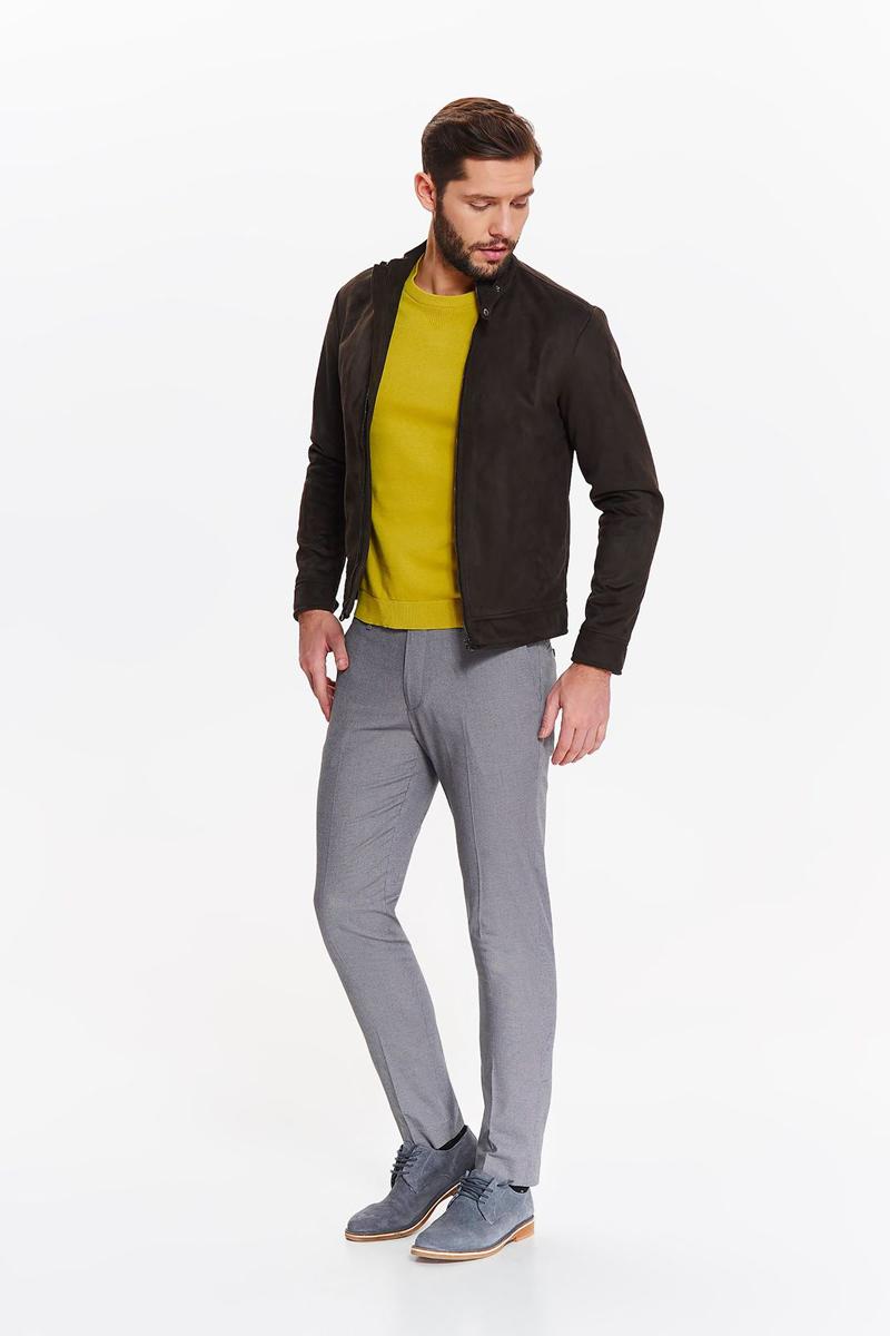 Куртка мужская Top secret, цвет: коричневый. SKU0866BR. Размер XXL (52) футболка мужская top secret цвет белый spo3466bi размер xxl 52