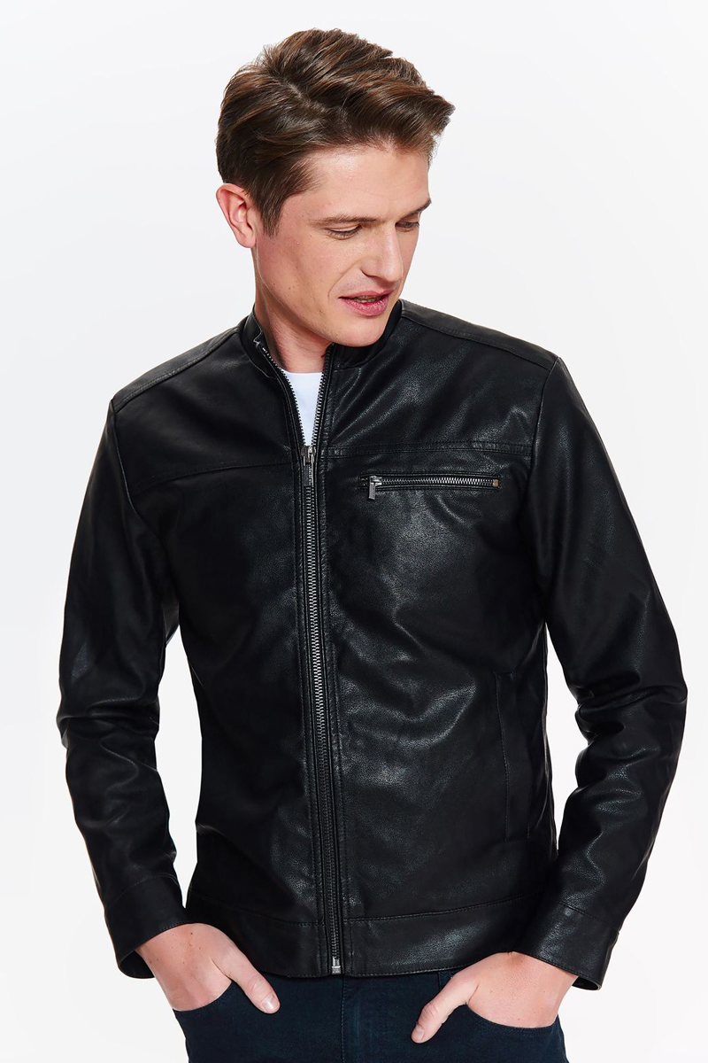 Куртка мужская Top secret, цвет: черный. SKU0864CA. Размер XXL (52) футболка мужская top secret цвет белый spo3466bi размер xxl 52