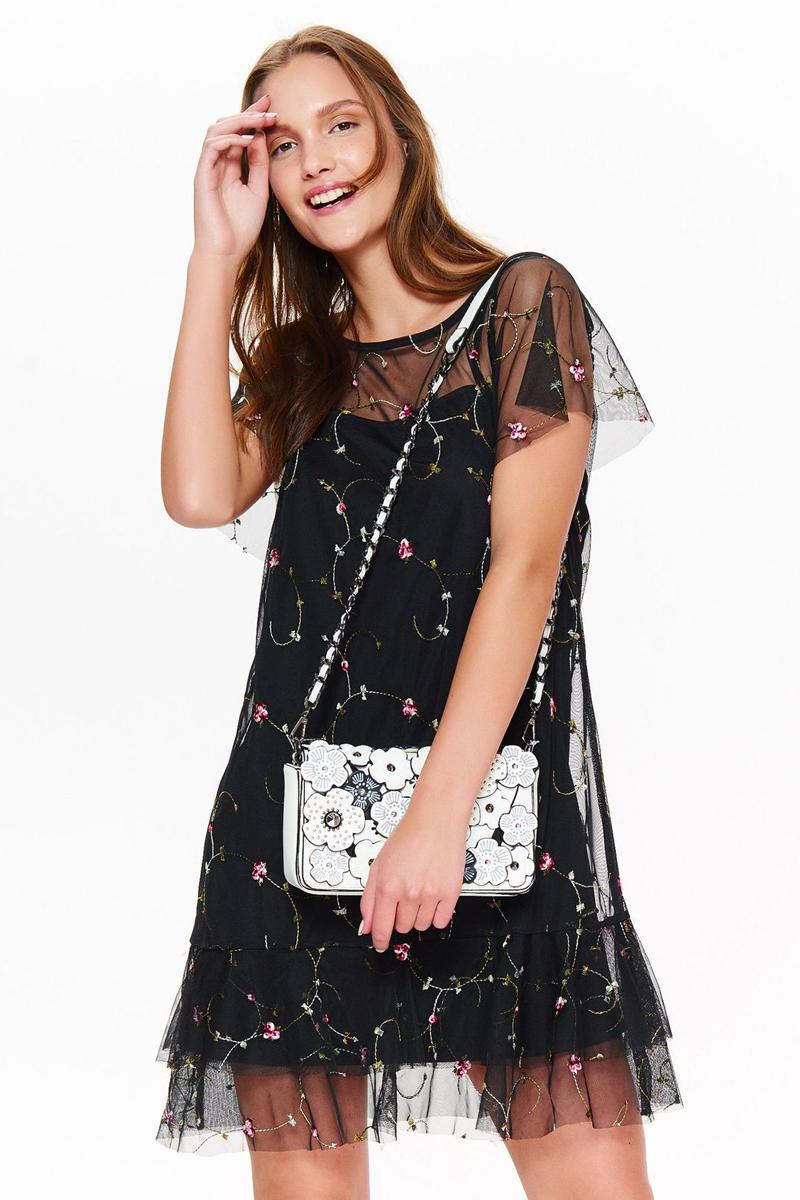 Платье Top secret, цвет: черный. SSU2049CA. Размер 38 (46) платье top secret top secret to795ewvss02