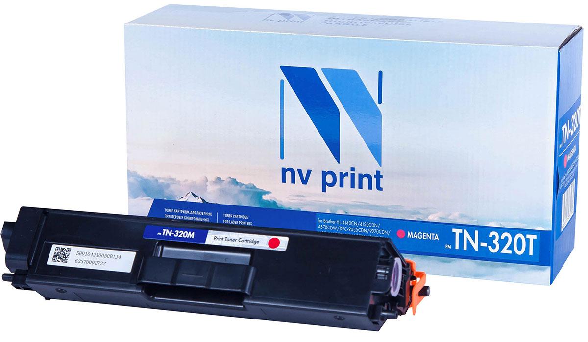 NV Print TN320T, Magenta тонер-картридж для Brother HL-4140/4150/4570/DPC-9055/9270/MFC-9460/9465/9970 printer heating unit fuser assy for brother hl 9560 hl9560 9270 9460 9465 9970 9055 fuser assembly on sale