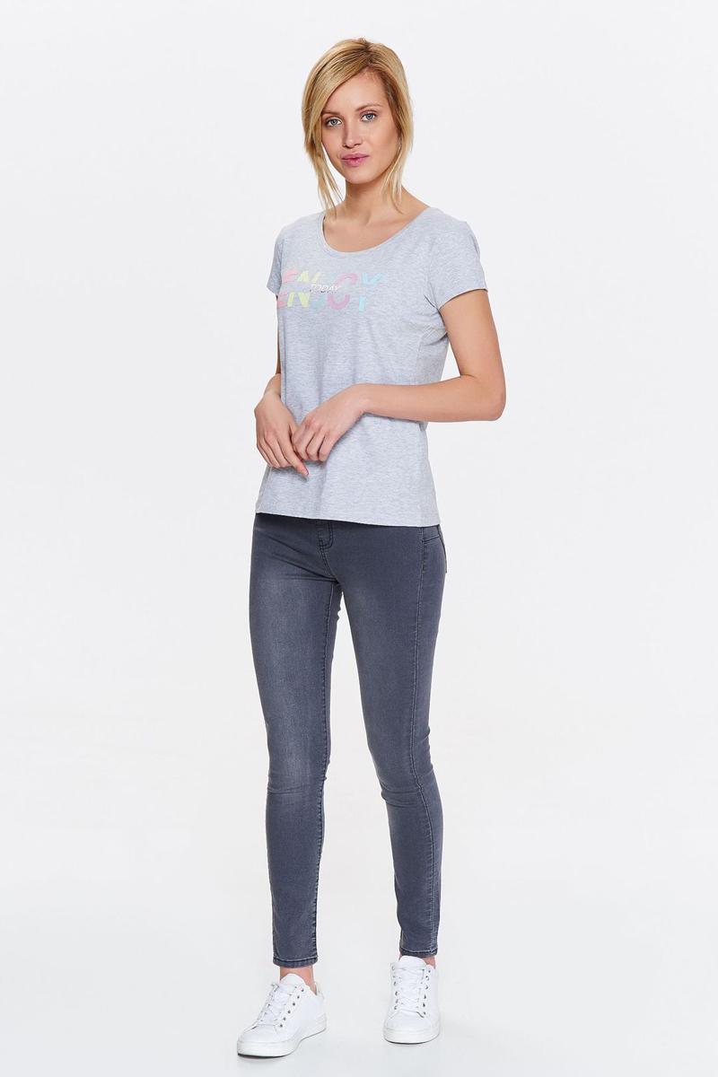 Футболка женская Drywash, цвет: серый. DPO0323SZ. Размер XL (50)