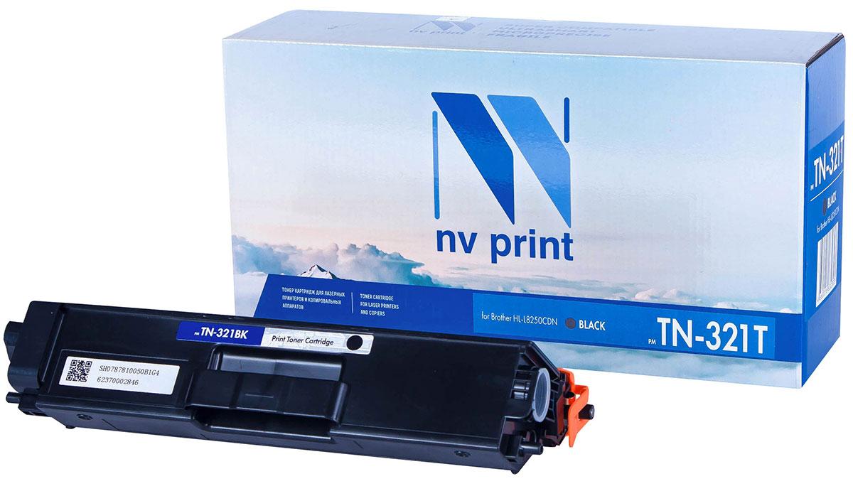 NV Print TN321T, Black тонер-картридж для Brother HL-L8250CDNNV-TN321TBkСовместимый лазерный картридж NV Print TN321T для печатающих устройств Brother - это альтернативаприобретению оригинальных расходных материалов. При этом качество печати остается высоким. Картриджобеспечивает повышенную чёткость текста и плавность переходов оттенков цвета и полутонов,позволяет отображать мельчайшие детали изображения.Лазерные принтеры, копировальные аппараты и МФУ являются более выгодными в печати, чем струйныеустройства, так как лазерных картриджей хватает на значительно большее количество отпечатков, чем обычных.Для печати в данном случае используются не чернила, а тонер.