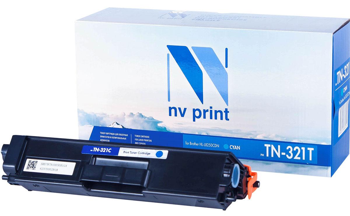 NV Print TN321T, Cyan тонер-картридж для Brother HL-L8250CDNNV-TN321TCСовместимый лазерный картридж NV Print TN321T для печатающих устройств Brother - это альтернативаприобретению оригинальных расходных материалов. При этом качество печати остается высоким. Картриджобеспечивает повышенную чёткость текста и плавность переходов оттенков цвета и полутонов,позволяет отображать мельчайшие детали изображения.Лазерные принтеры, копировальные аппараты и МФУ являются более выгодными в печати, чем струйныеустройства, так как лазерных картриджей хватает на значительно большее количество отпечатков, чем обычных.Для печати в данном случае используются не чернила, а тонер.