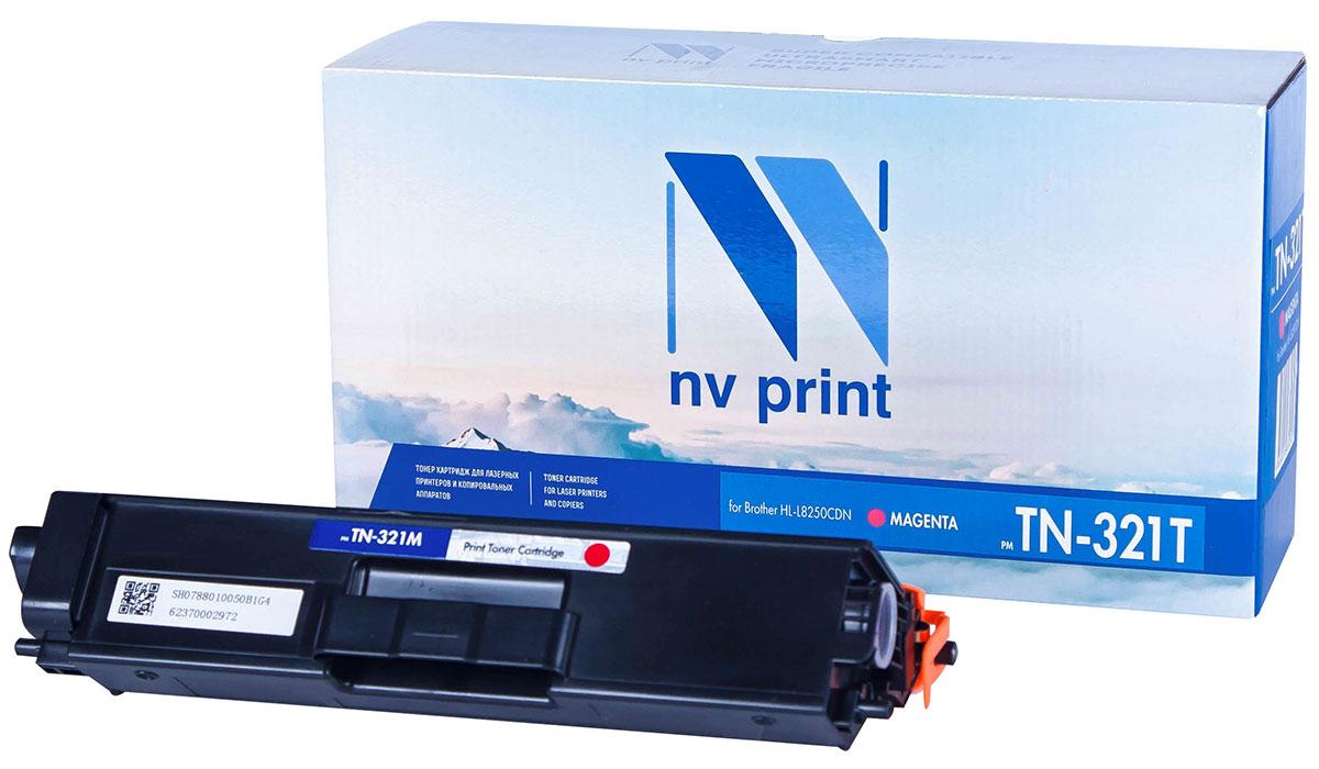 NV Print TN321T, Magenta тонер-картридж для Brother HL-L8250CDNNV-TN321TMСовместимый лазерный картридж NV Print TN321T для печатающих устройств Brother - это альтернативаприобретению оригинальных расходных материалов. При этом качество печати остается высоким. Картриджобеспечивает повышенную чёткость текста и плавность переходов оттенков цвета и полутонов,позволяет отображать мельчайшие детали изображения.Лазерные принтеры, копировальные аппараты и МФУ являются более выгодными в печати, чем струйныеустройства, так как лазерных картриджей хватает на значительно большее количество отпечатков, чем обычных.Для печати в данном случае используются не чернила, а тонер.