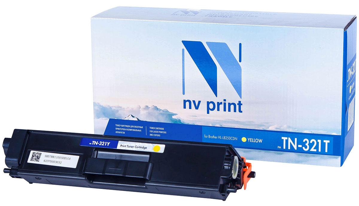 NV Print TN321T, Yellow тонер-картридж для Brother HL-L8250CDNNV-TN321TYСовместимый лазерный картридж NV Print TN321T для печатающих устройств Brother - это альтернативаприобретению оригинальных расходных материалов. При этом качество печати остается высоким. Картриджобеспечивает повышенную чёткость текста и плавность переходов оттенков цвета и полутонов,позволяет отображать мельчайшие детали изображения.Лазерные принтеры, копировальные аппараты и МФУ являются более выгодными в печати, чем струйныеустройства, так как лазерных картриджей хватает на значительно большее количество отпечатков, чем обычных.Для печати в данном случае используются не чернила, а тонер.