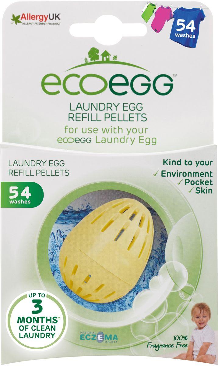 Вкладыш-заправка для стирки Ecoegg Без запаха, 54 стирки вкладыш заправка для стирки ecoegg весенний аромат 54 стирки