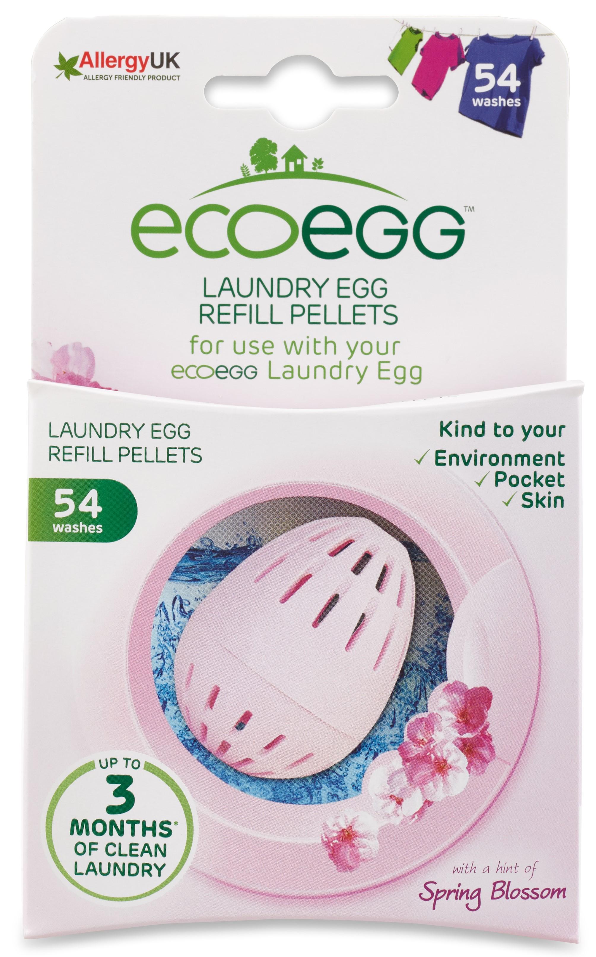 Вкладыш-заправка для стирки Ecoegg Весенний аромат, 54 стирки контейнер для стирки бюстгальтера bra baby