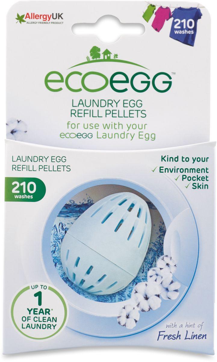 Вкладыш-заправка для стирки Ecoegg Свежее белье, 210 стирок вкладыш заправка для стирки ecoegg весенний аромат 54 стирки
