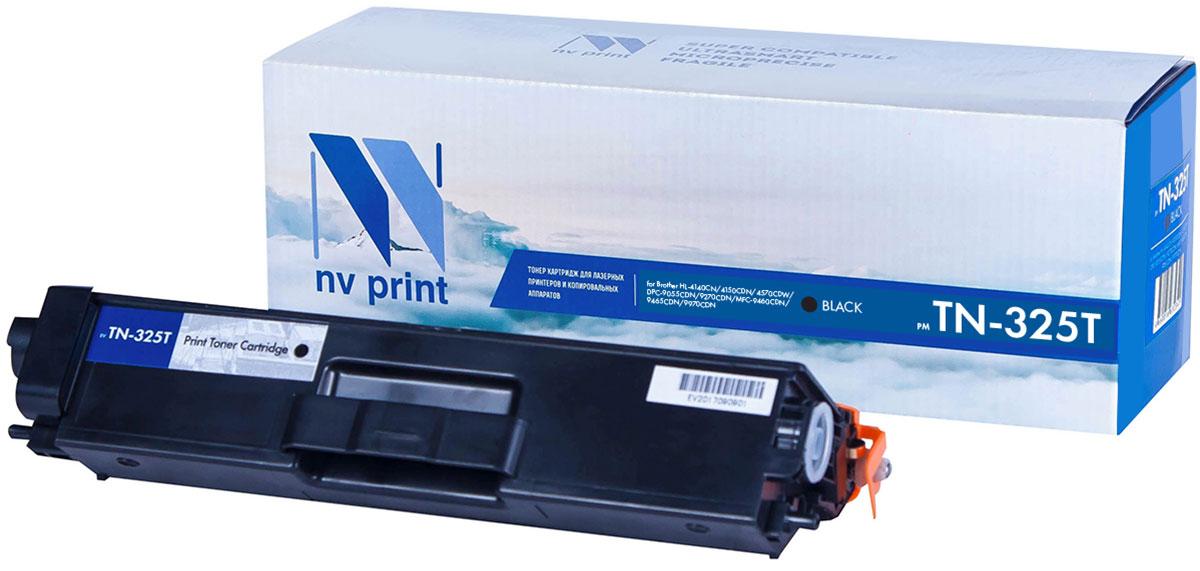 NV Print TN325T, Black тонер-картридж для Brother HL-4140/4150/4570/DPC-9055/9270/MFC-9460/9465/9970NV-TN325TBkСовместимый лазерный картридж NV Print TN325T для печатающих устройств Brother - это альтернативаприобретению оригинальных расходных материалов. При этом качество печати остается высоким. Картриджобеспечивает повышенную чёткость текста и плавность переходов оттенков цвета и полутонов,позволяет отображать мельчайшие детали изображения.Лазерные принтеры, копировальные аппараты и МФУ являются более выгодными в печати, чем струйныеустройства, так как лазерных картриджей хватает на значительно большее количество отпечатков, чем обычных.Для печати в данном случае используются не чернила, а тонер.