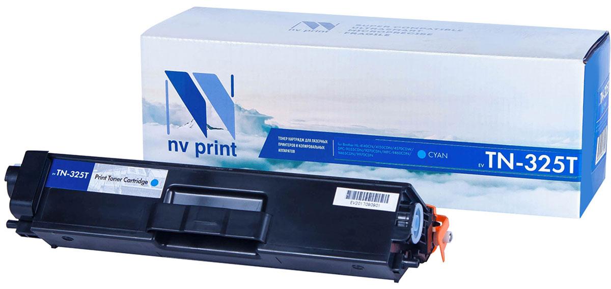 NV Print TN325T, Cyan тонер-картридж для Brother HL-4140/4150/4570/DPC-9055/9270/MFC-9460/9465/9970NV-TN325TCСовместимый лазерный картридж NV Print TN325T для печатающих устройств Brother - это альтернативаприобретению оригинальных расходных материалов. При этом качество печати остается высоким. Картриджобеспечивает повышенную чёткость текста и плавность переходов оттенков цвета и полутонов,позволяет отображать мельчайшие детали изображения.Лазерные принтеры, копировальные аппараты и МФУ являются более выгодными в печати, чем струйныеустройства, так как лазерных картриджей хватает на значительно большее количество отпечатков, чем обычных.Для печати в данном случае используются не чернила, а тонер.