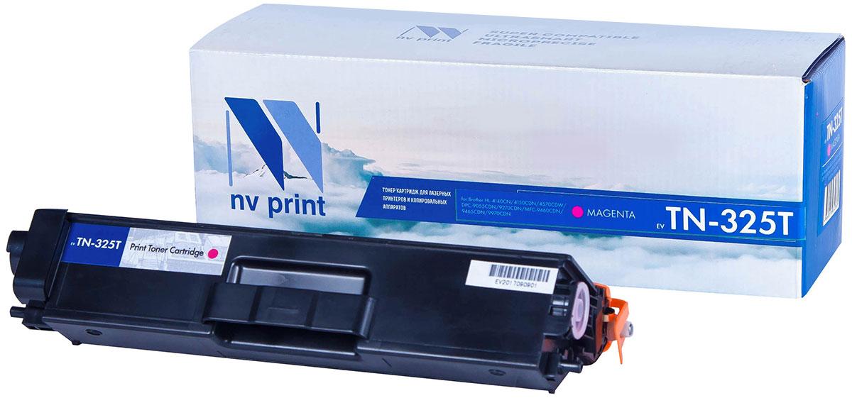 NV Print TN325T, Magenta тонер-картридж для Brother HL-4140/4150/4570/DPC-9055/9270/MFC-9460/9465/9970NV-TN325TMСовместимый лазерный картридж NV Print TN325T для печатающих устройств Brother - это альтернативаприобретению оригинальных расходных материалов. При этом качество печати остается высоким. Картриджобеспечивает повышенную чёткость текста и плавность переходов оттенков цвета и полутонов,позволяет отображать мельчайшие детали изображения.Лазерные принтеры, копировальные аппараты и МФУ являются более выгодными в печати, чем струйныеустройства, так как лазерных картриджей хватает на значительно большее количество отпечатков, чем обычных.Для печати в данном случае используются не чернила, а тонер.