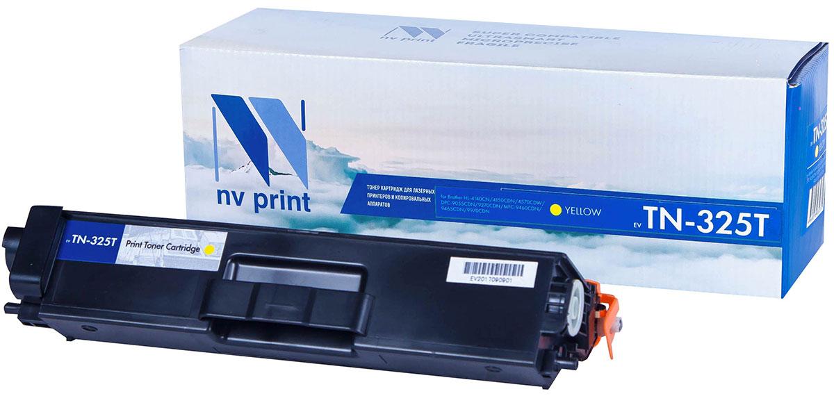NV Print TN325T, Yellow тонер-картридж для Brother HL-4140/4150/4570/DPC-9055/9270/MFC-9460/9465/9970NV-TN325TYСовместимый лазерный картридж NV Print TN325T для печатающих устройств Brother - это альтернативаприобретению оригинальных расходных материалов. При этом качество печати остается высоким. Картриджобеспечивает повышенную чёткость текста и плавность переходов оттенков цвета и полутонов,позволяет отображать мельчайшие детали изображения.Лазерные принтеры, копировальные аппараты и МФУ являются более выгодными в печати, чем струйныеустройства, так как лазерных картриджей хватает на значительно большее количество отпечатков, чем обычных.Для печати в данном случае используются не чернила, а тонер.