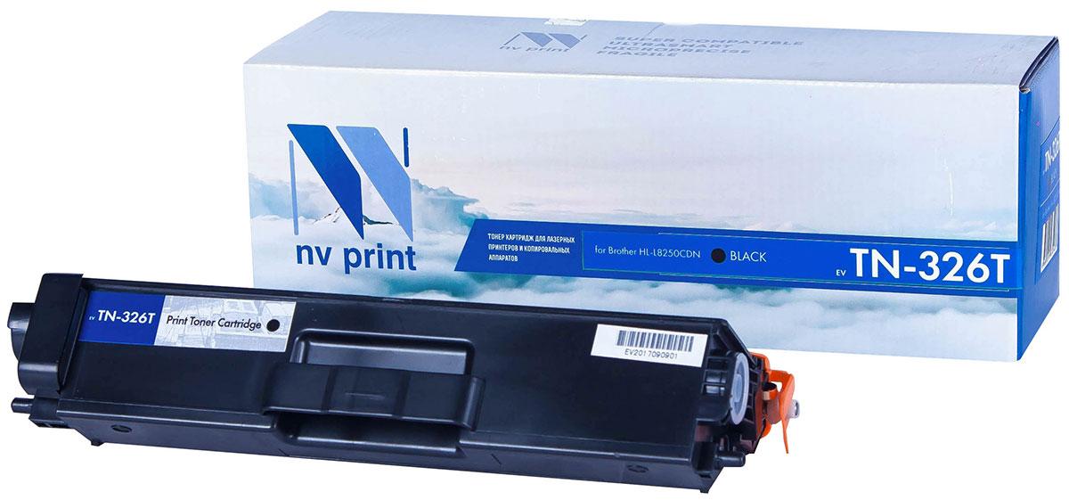 NV Print TN326T, Black тонер-картридж для Brother HL-L8250CDNNV-TN326TBkСовместимый лазерный картридж NV Print TN326T для печатающих устройств Brother - это альтернативаприобретению оригинальных расходных материалов. При этом качество печати остается высоким. Картриджобеспечивает повышенную чёткость текста и плавность переходов оттенков цвета и полутонов,позволяет отображать мельчайшие детали изображения.Лазерные принтеры, копировальные аппараты и МФУ являются более выгодными в печати, чем струйныеустройства, так как лазерных картриджей хватает на значительно большее количество отпечатков, чем обычных.Для печати в данном случае используются не чернила, а тонер.