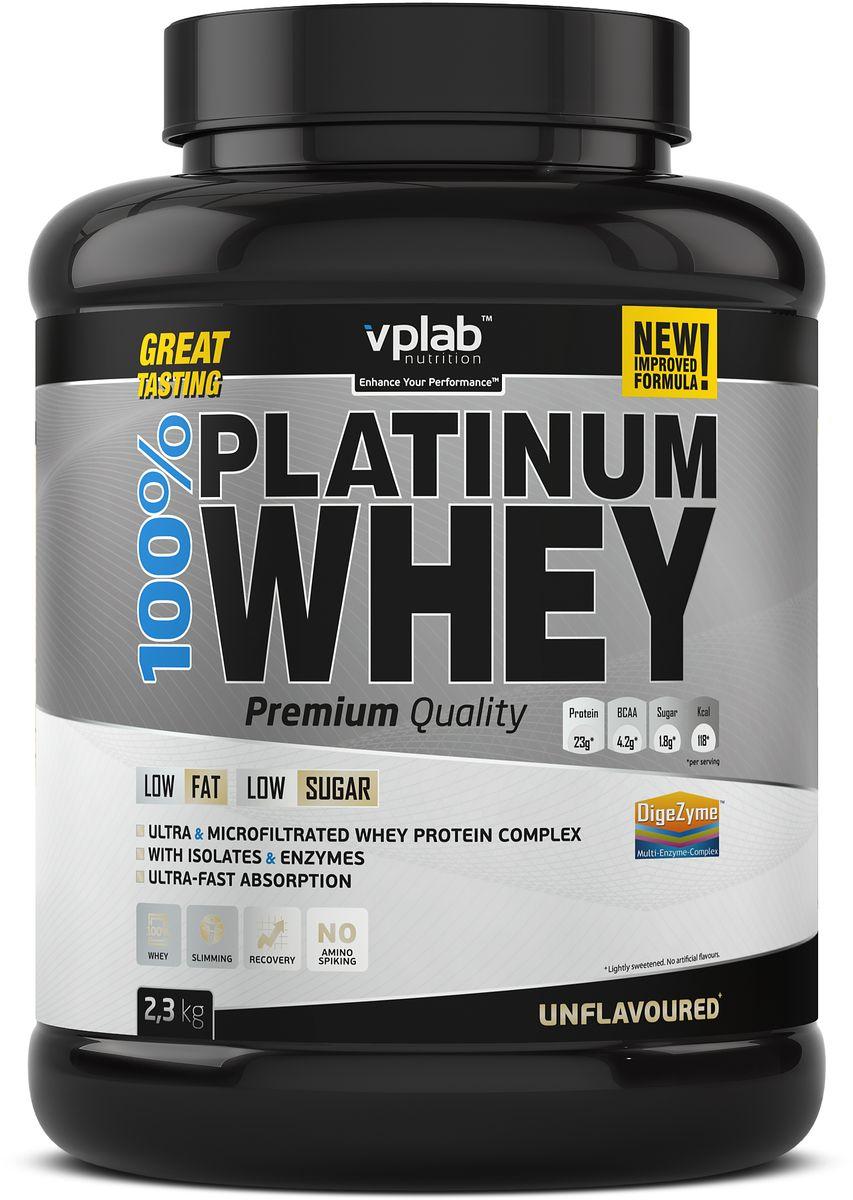 Протеин сывороточный Vplab Platinum Whey, 2,3 кг протеин сывороточный vplab platinum whey малина в шоколаде 2 3 кг