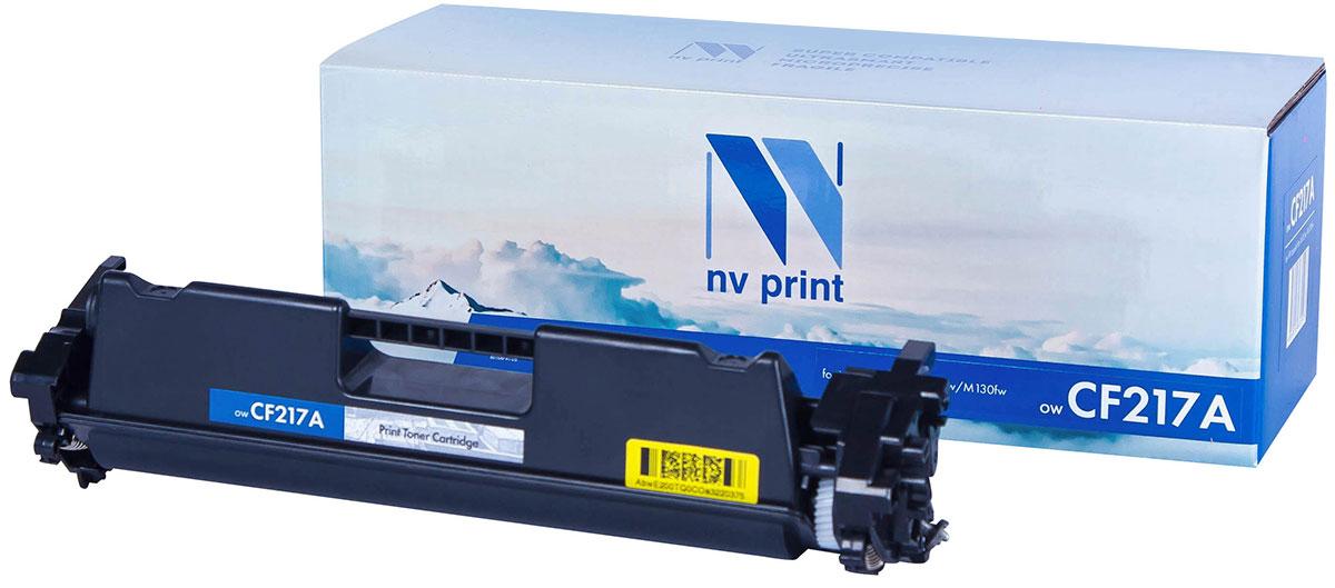 NV Print CF217A, Black тонер-картридж для HP LaserJet Pro M102w/M130fw чернильный картридж hp 130 c8767he black