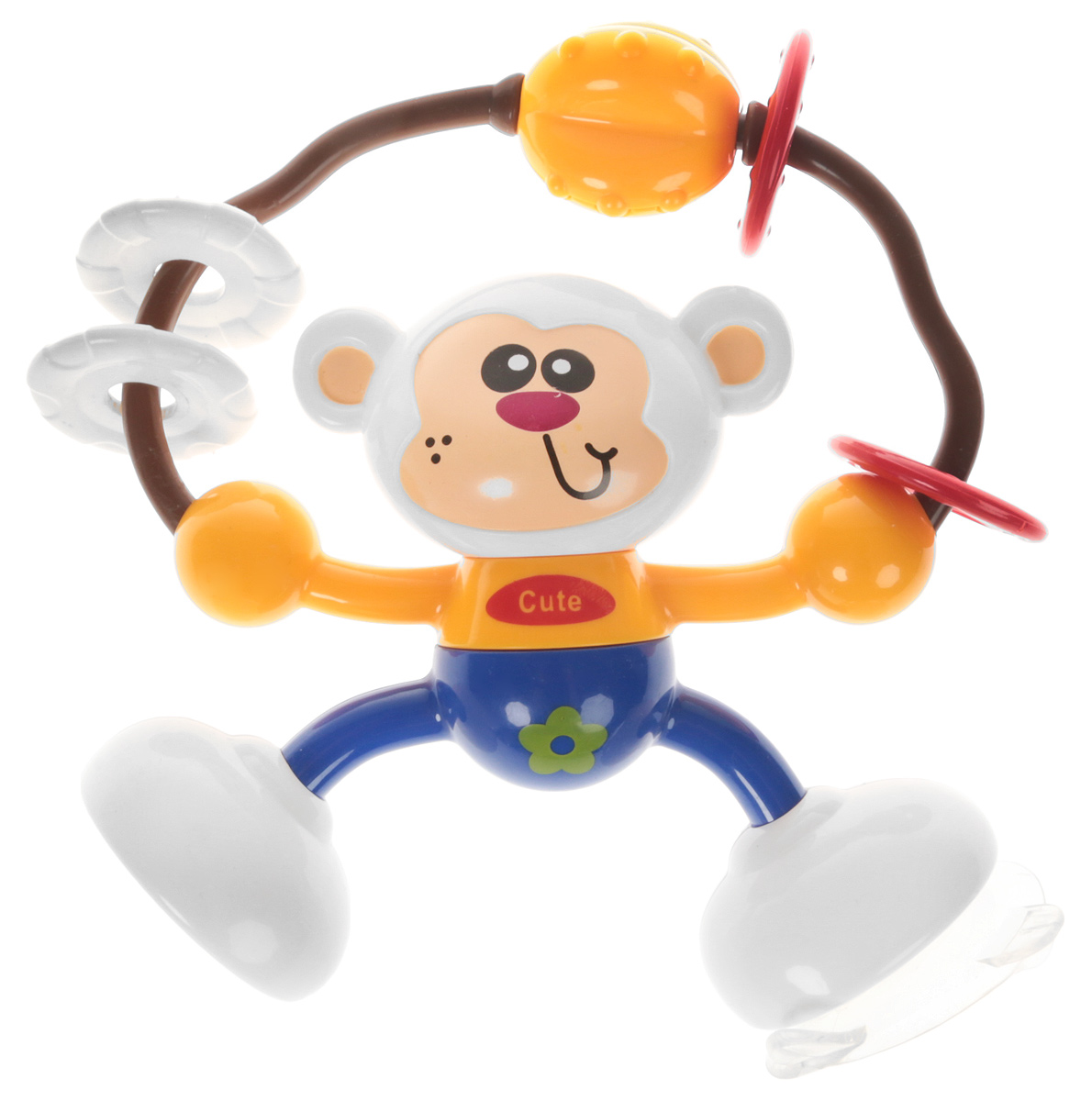 Ути-Пути Развивающая игрушка Обезьянка цвет оранжевый синий ю каталог ути пути